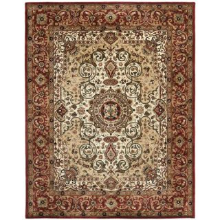 Safavieh Persian Legend Ivory/Red Rug PL528A Rug Size 76 x 96