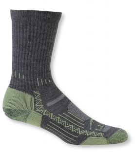 Ascent Hiking Socks, Midweight 2 Pack