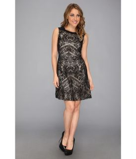 Kenneth Cole New York Skylar Dress Womens Dress (Black)