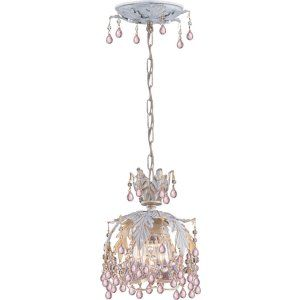 Crystorama Lighting CRY 5235 AW ROSA Paris Flea Market Paris Flea Market 1 Light
