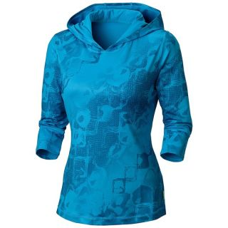Mountain Hardwear Nambia Hooded Shirt   3/4 Sleeve (For Women)   BERRY JAM (M )