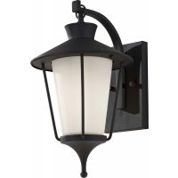 Feiss OL8401TXB Hawkins Square 1 Light Outdoor Lantern