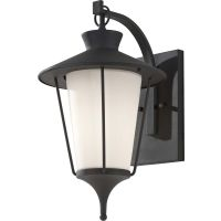 Feiss OL8402TXB Hawkins Square 1 Light Outdoor Lantern