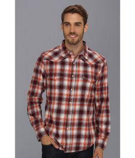 Lucky Brand Creekside Plaid Western Shirt Mens Long Sleeve Button Up (Multi)
