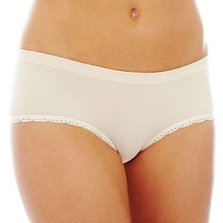 THE BODY Elle Macpherson Intimates Seamless Hipster Panties, Silvr Peony Pristi