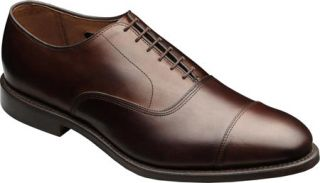 Mens Allen Edmonds Park Avenue   Dark Brown Burnished Calf Lace Up Shoes