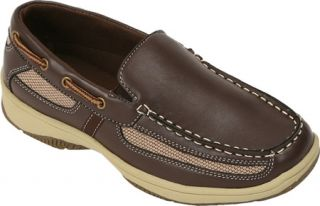 Boys Deer Stags Pal   Dark Brown Casual Shoes