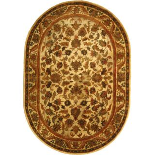 Safavieh Antiquities Majesty Gold Rug AT52D Rug Size Oval 46 x 66