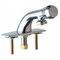 Chicago Faucets 857 665PSHCP Universal Metering Single Hole Faucet