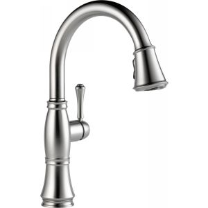 Delta Faucet 9197 AR DST Cassidy Single Handle Pull Down Kitchen Faucet