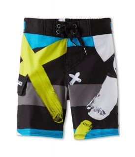 Quiksilver Kids A Little Tude Boardshort Boys Swimwear (Black)