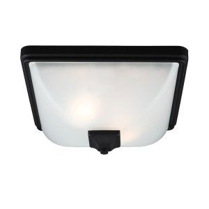 Sea Gull Lighting SEA 7828402 12 Irving Park Two Light Outdoor Ceiling Flush Mou