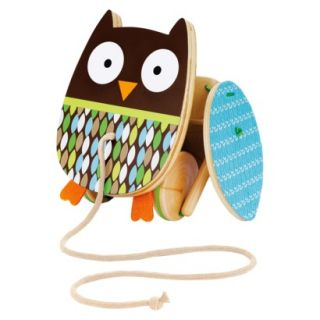 Skip Hop Treetop Friends Wooden Pull Toy   Flapping Owl