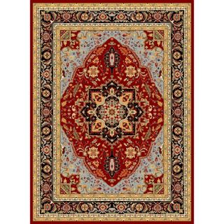 Safavieh Lyndhurst Collection Red/ Black Rug (9 X 12)