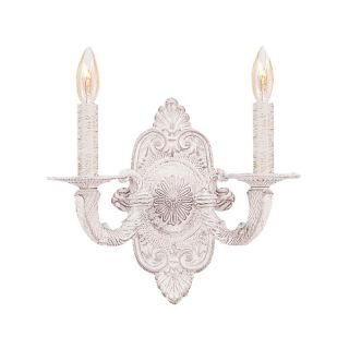 Crystorama 5122 Paris Flea Market Wall Sconce   10.5W in.   5122 AW