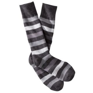 Merona Mens 1pk Dress Socks   Assorted Rugby Stripes