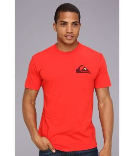 Quiksilver Prime Time Tee Mens T Shirt (Red)