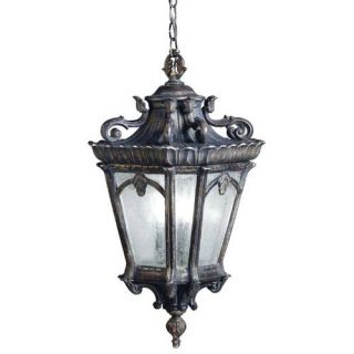 Kichler 9855LD Outdoor Light, European Pendant 3 Light Fixture Londonderry