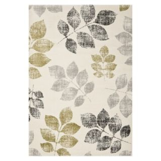 Safavieh Botanical Area Rug   Ivory/Green (67x96)
