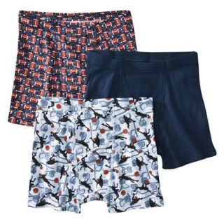 Hanes Boys Boxer Brief Underwear 3 pack   Assorted Prints L