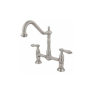 Elements of Design ES1178AL New Orleans Two Handle Kitchen Faucet