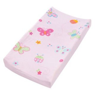 Summer Infant Butterfly Changing Pad Cover   Pink