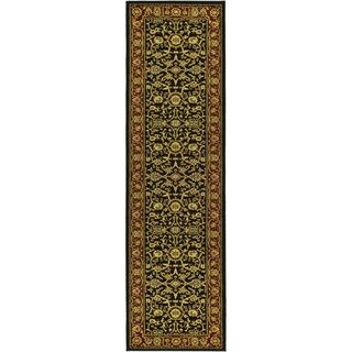Safavieh Lyndhurst Majestic Black/ Red Rug (23 X 22)