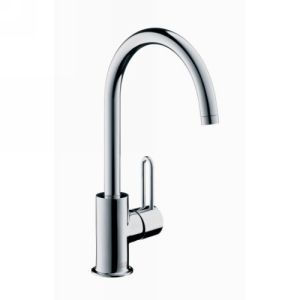 Hansgrohe 38030001 Axor Uno High Spout Single Hole Lavatory Faucet