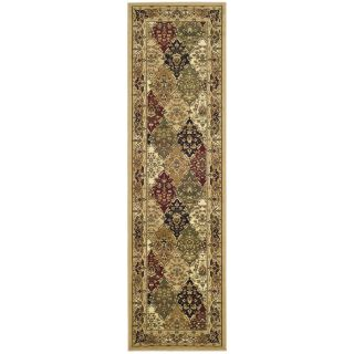 Safavieh Lyndhurst Multi colored/ Black Rug (23 X 10)