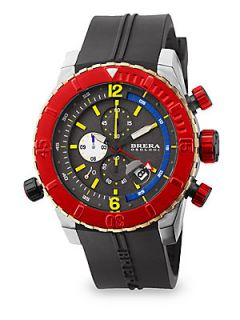 Brera Orologi Sottomarino Stainless Steel Diver Watch   Stainless Steel