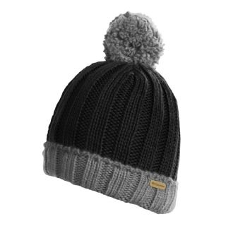 Columbia Sportswear Snowtop Beanie Hat (For Kids and Youth)   BLACK/CHARCOAL ( )