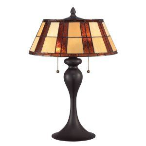 Quoizel TF1605TWT Tiffany Redding Tiffany Table Lamp