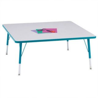 Jonti Craft Rainbow Accents Activity Table  Square (48 x 48) 6418JCXXXX