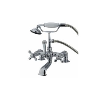 Elements of Design DT2041AX St. Louis Clawfoot Tub Filler With Hand Shower