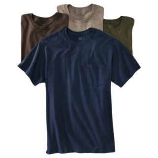 Fruit of the Loom Mens 4 pack Pocket Tee   Assorted Colors 2XL