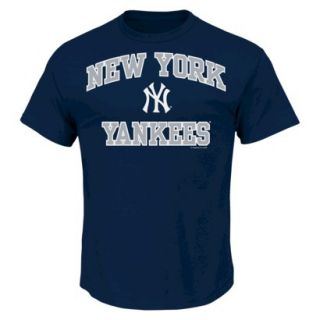MLB Mens New York Yankees T Shirt   Navy (L)