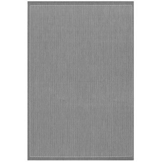 Recife Saddle Stitch Grey Rug (39 X 55) (GreySecondary colors WhitePattern StripeTip We recommend the use of a non skid pad to keep the rug in place on smooth surfaces.All rug sizes are approximate. Due to the difference of monitor colors, some rug col