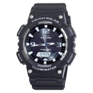 Casio Mens Solar Sport Watch   Black   AQS810W 1AVCF