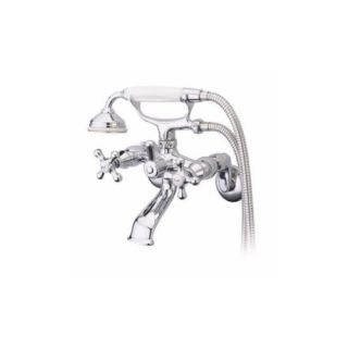 Elements of Design ES2663X Accents Wall Mount Faucet With Hand Shower