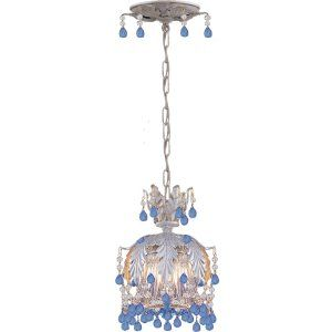 Crystorama Lighting CRY 5235 SL BLUE Paris Flea Market Paris Flea Market 1 Light