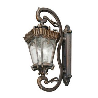 Kichler 9360LD Outdoor Light, European Wall 4 Light Fixture Londonderry