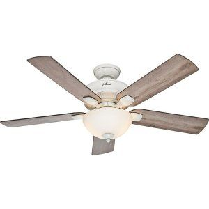 Hunter HUF 54091 Matheston Large Room Ceiling Fan with light