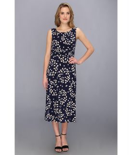 Jessica Howard Ruched Waist Dress Womens Dress (Blue)