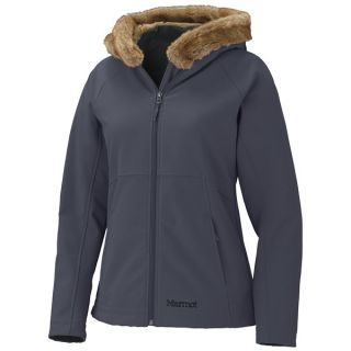 Marmot Furlong Soft Shell Jacket (For Women)   BLACK (S )