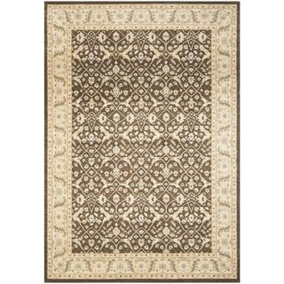 Safavieh Florenteen Brown/ivory Traditional Rug (53 X 76)