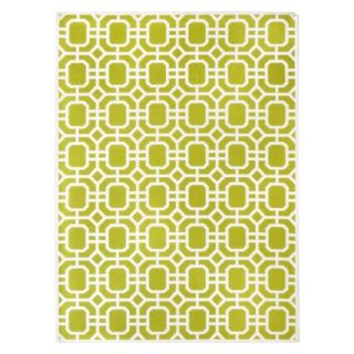 Threshold Indoor/Outdoor Area Rug   Lime Green (7x10)