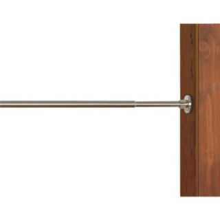 Versailles Indoor/ Outdoor Stainless Steel Duo Tension Rod   Brushed Nickel