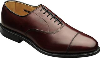 Mens Allen Edmonds Park Avenue   Merlot Burnished Calf Lace Up Shoes