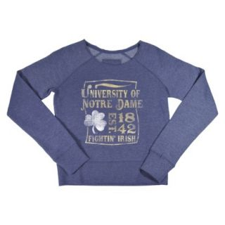 NCAA Kids Notre Dame Fleece   Grey (XL)