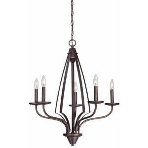 Thomas Lighting THO SL809223 Churchill Chandelier Colonial Bronze 5x